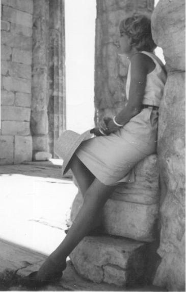 Jane in Athens 1965