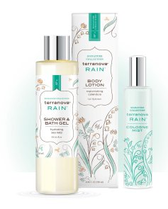 Terranova's Rain Collection has fresh clean notes