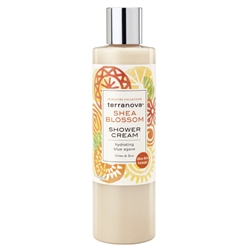 Nourish dry, damaged skin with calendula infused Terranova Shea Blossom Shower Cream.