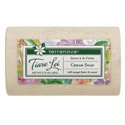 Terranova Tiare Lei Cream Bar Soap with oat helps cleanse sensitive skin